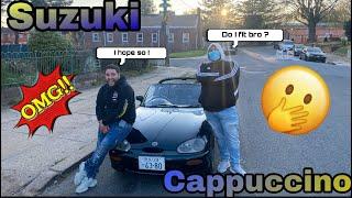 Suzuki Cappuccino test drive was insane