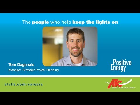 The people who help keep the lights on: Tom Dagenais, Manager, Strategic Project Planning