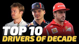 Top 10 F1 Drivers of the Decade | Crash.net