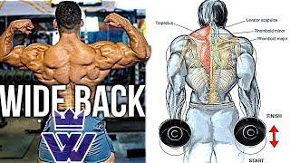 MASSIVE BACK WORKOUT   15 Exercises for V-Taper BACK