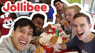 Download lagu AMERICANS EAT JOLLIBEE :: FILIPINO FOOD TASTE TEST | LuisYoutube