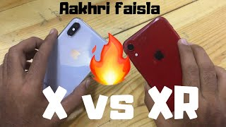 iPhone Xr vs iPhone X | The final decision