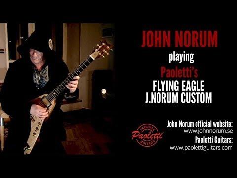 New TRAILER: JOHN NORUM introducing his Paoletti's FLYING EAGLE J.NORUM CUSTOM signature
