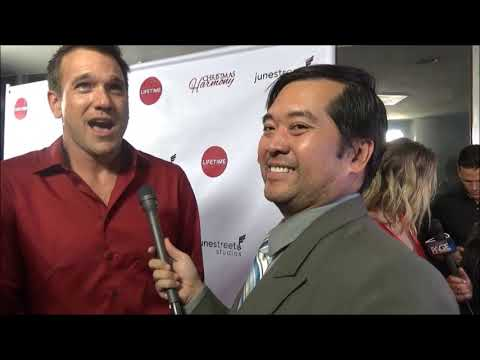 Christmas Harmony Movie.Christmas Harmony Adam Mayfield Red Carpet Interview