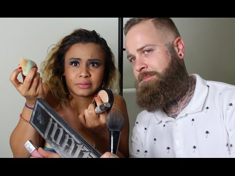 My Tattoo Artist Boyfriend Does My Make Up!!
