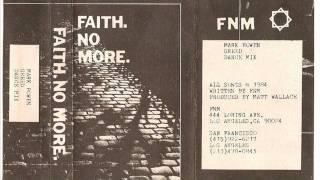 Faith No More - Greed III (Demo) [The Roddy Demo 1984]