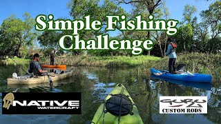 Simple Fishing Challenge: Featuring Greg Blanchard