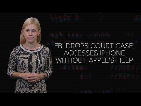 FBI drops Apple court case after unlocking terrorist's iPhone (CNET News)