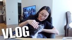 簡單週末 Weekend Vlog: 超簡單氣炸雞翅😜、買了新電腦👩🏻💻、二狗剪指甲ὃ