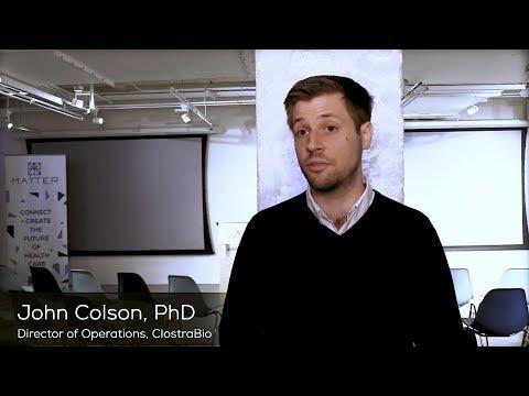 MATTER Spotlight: John Colson, ClostraBio
