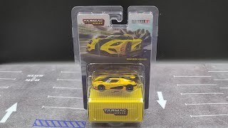 Tarmac Works GLOBAL64 2021 Yellow Koenigsegg Agera RS 1:64 Die-cast Review
