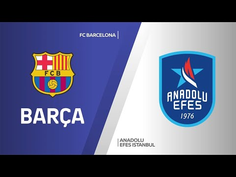 FC Barcelona - Anadolu Efes Istanbul Highlights   Turkish Airlines EuroLeague, Championship Game