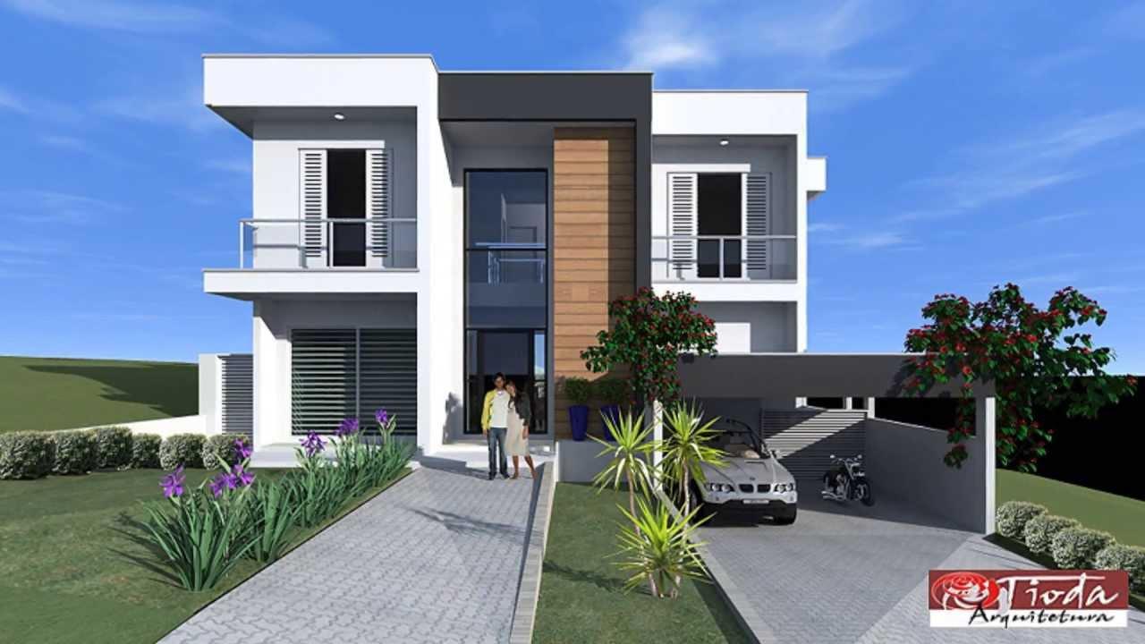 Projeto casa contempor nea 1 reserva santa maria nature for Casas contemporaneas de una planta