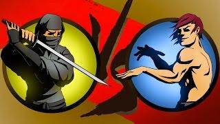 Shadow Fight 2 Бой с тенью #4 - Игла, Жало, Шутница, Призрак, Изверг, Бархат, Железный и Трикстер