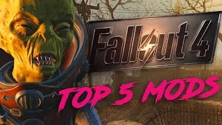 TOP 5 FALLOUT 4  CONSOLE MODS - JUST DOM SHOW