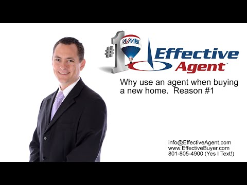 Why do I need an agent when buying a new home?  Reason #1