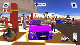 주유소 주차 - 시내 운전 시뮬레이터 세차 게임 - B…