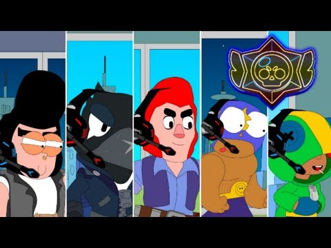 BRAWL STARS ANIMATION: 300 IQ VS 10 IQ (Parody)