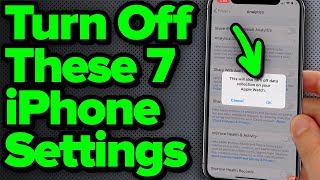 Download lagu 7 iPhone Settings You Need To Turn Off Now