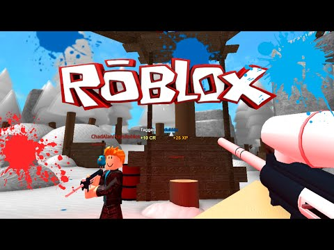 ROBLOX LET'S PLAY TWISTED PAINTBALL | RADIOJH GAMES & GAMER CHAD