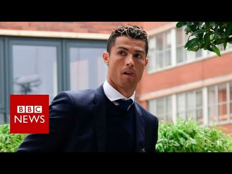 Cristiano Ronaldo appears in court on tax charges - BBC News