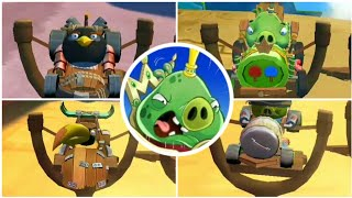 Angry Birds Go (1.3.2) - All Bosses (Boss Fights)