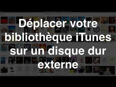 Déplacer votre bibliothèque iTunes sur un disque dur externe