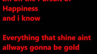 Kid Cudi ft Steve Aoki Pursuid of Happiness Lyrics