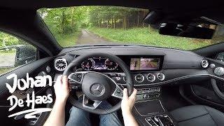 2017 Mercedes E-Class Coupe E220d POV Test drive
