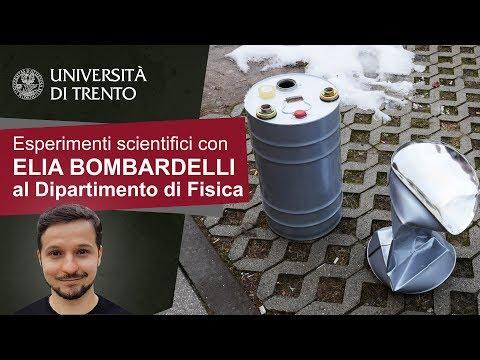Esperimento Scientifico : Implosione di un Barile - Imploding Can