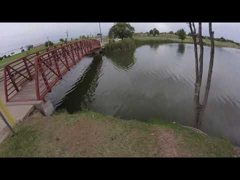 BIG Summer Crappie At Dunbar Historic Lake In Lubbock Texas