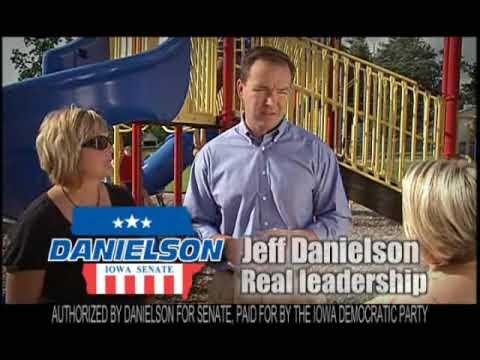 Jeff Danielson: Leadership in the Iowa Senate