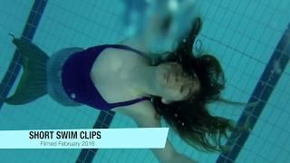 February 2016 Mermaid Swimming Compilation