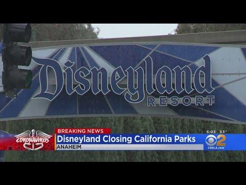 Disneyland To Shut Down Through End Of Month Amid Coronavirus Concerns