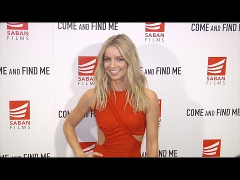 "Annabelle Wallis ""Come and Find Me"" Premiere Red Carpet"