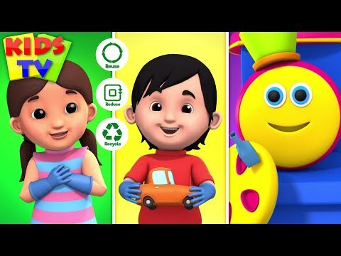 The Best Gift Is Our Planet Earth | Bob The Train Shorts | Kids Stories & Cartoon Shows