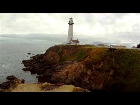 Pigeon Point Lighthouse on highway 1 near Santa Cruz