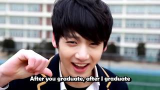 "Gambar cover [Eng Sub] BTS (방탄소년단) Predebut - Bighit Exclusive BTS ""Graduation song"" by Jungkook, Jimin, Jhope"