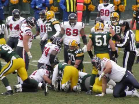 Greenbay Packers at Lambeau 2008