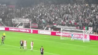 NEC - FC Emmen sfeer en de 4-0 Daemen