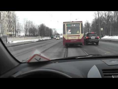 Проезд перекрестков с трамвайными путями Правила проезда