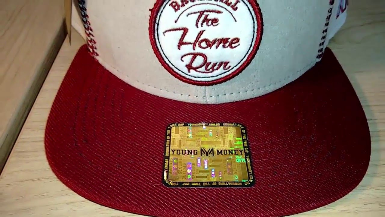 376419a8c8f67 Boné Aba Reta Snapback Young Money Baseball Claro - YouTube