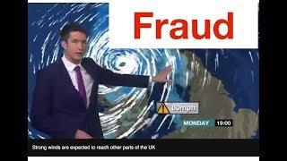 Hurricane Ophelia is A LIE: A Phony Fake Weather Show