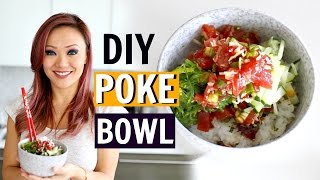 best diy ahi poke bowl   chef kathy fang
