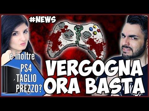 ADESSO BASTA: Nuovo VERGOGNOSO ATTACCO ai VIDEOGIOCHI + TAGLIO PREZZO PS4? #NEWS