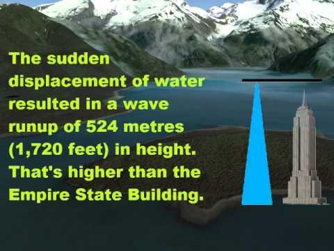 MegaTsunami Alaska 1958