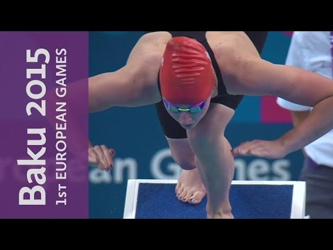 DAY 11 Replay | Swimming, Volleyball & Badminton | Baku 2015 European Games