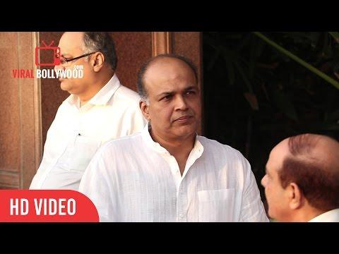 Ashutosh Gowariker at Aishwariya Rai Father Krishnaraj Rai Prayer Meet