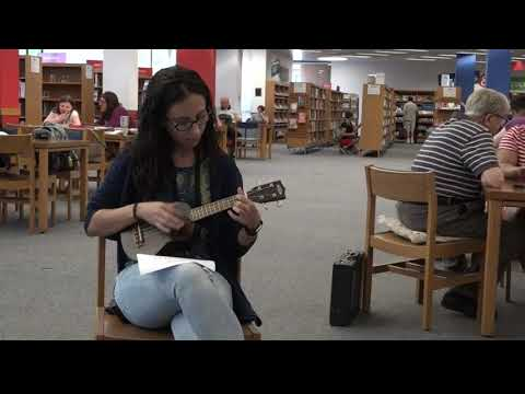 Borrow a musical instrument at the County Library