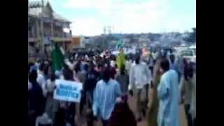 Anti US/Israel demonstration in. Zaria Nigeria